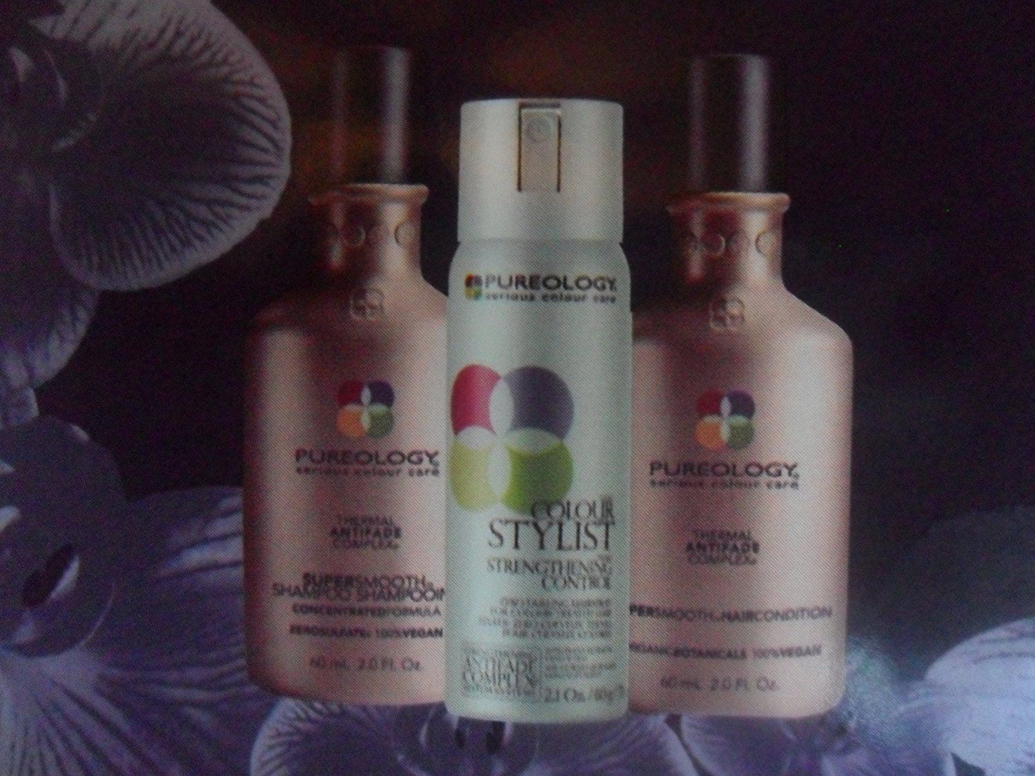 PUREOLOGY Super Smooth Petite Luxuries Shampoo, Conditioner and Colour Stylist Strengthening Control (Travel Sizes) *** Check this awesome image  : Travel Hair care