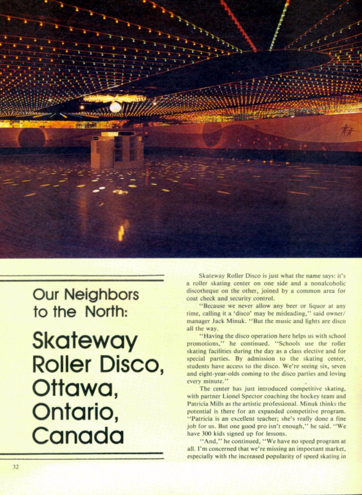 Roller skating rink ontario -  70s 80s Roller Skating Disco Style Rink