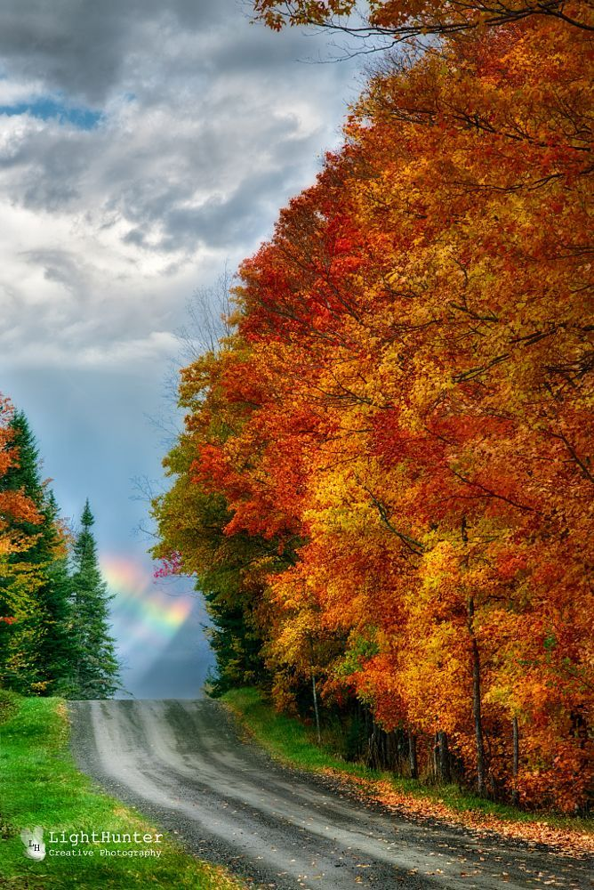 Tresorsdumonde Ca Partage Country Road Sherbrooke Quebec Canada By Lighthunter On 500px Country Roads Scenery Landscape