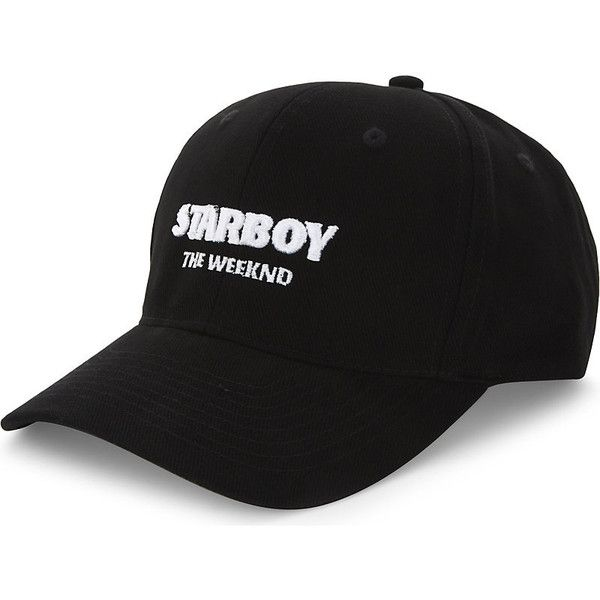 918913690e0b9 The Weeknd Starboy cotton strapback cap ( 42) ❤ liked on Polyvore featuring  men s fashion