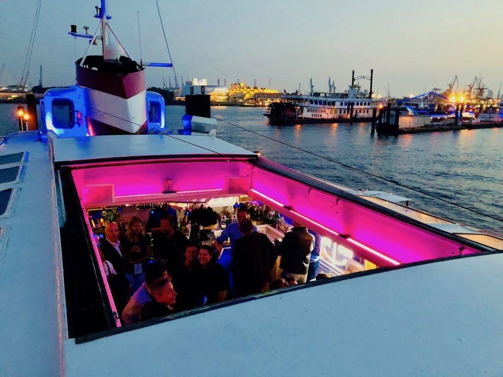 Eventschiff Grosser Michel Planmy Wedding Yacht Mieten Hochzeitslocation Hochzeit Schiff