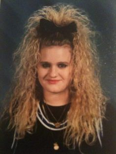 80's prom hairstyles