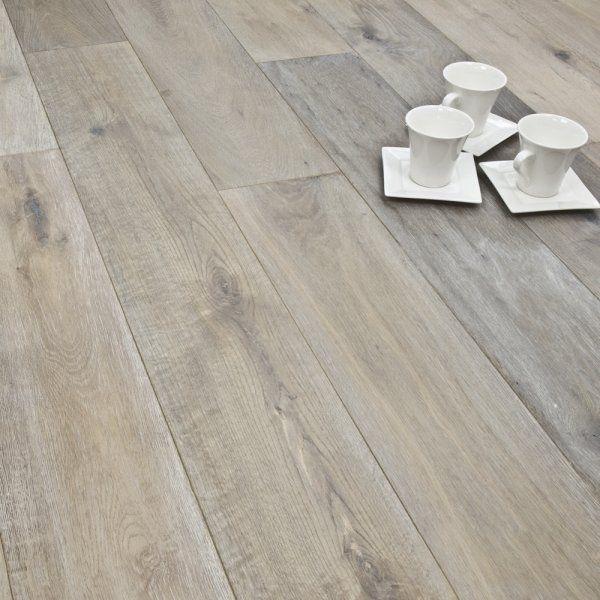 Titanium Series Engineered Flooring 154mm X 190mm Oak Smoked