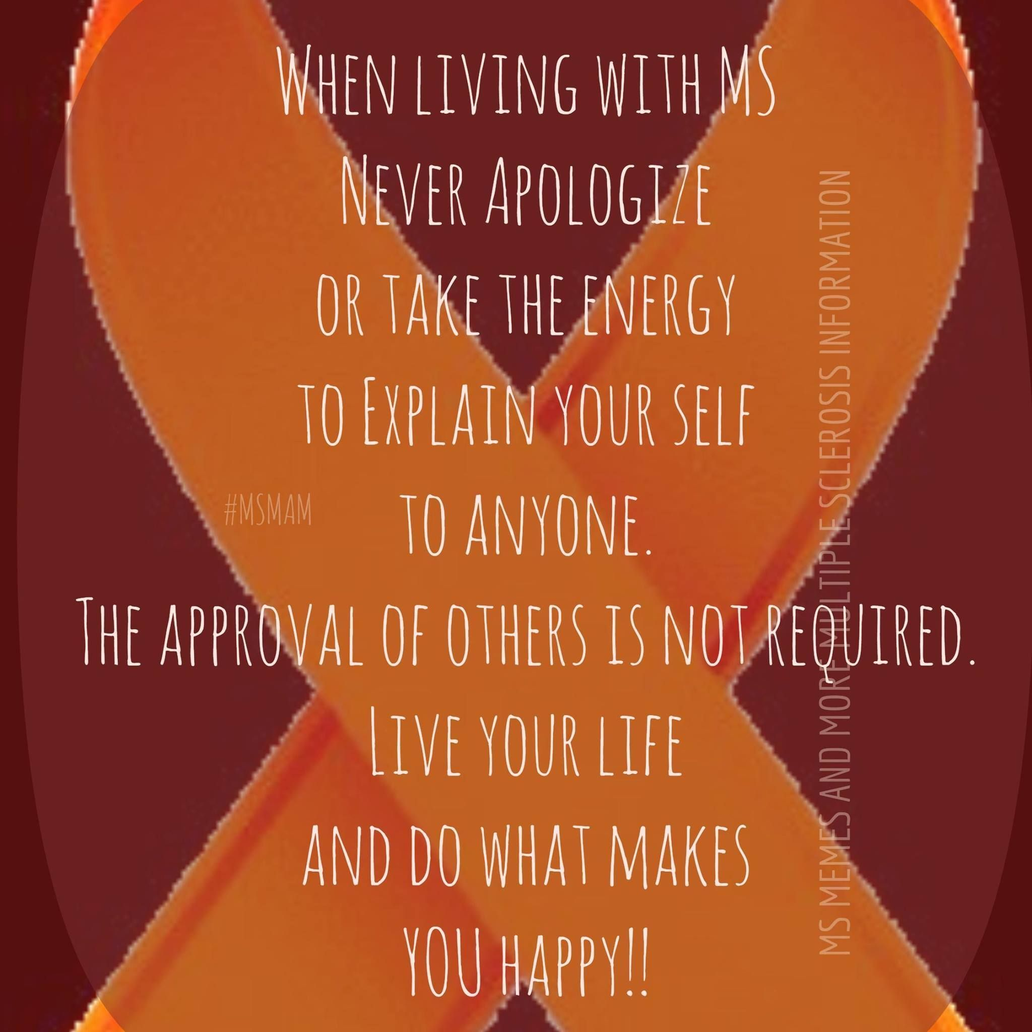 Pin by Paquita Roybal on Ms awareness | Multiple sclerosis ...