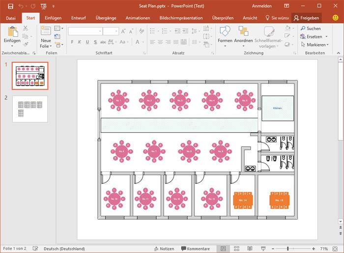 Präsentation Sitzplan Vorlagen Planer, Vorlagen, Power point
