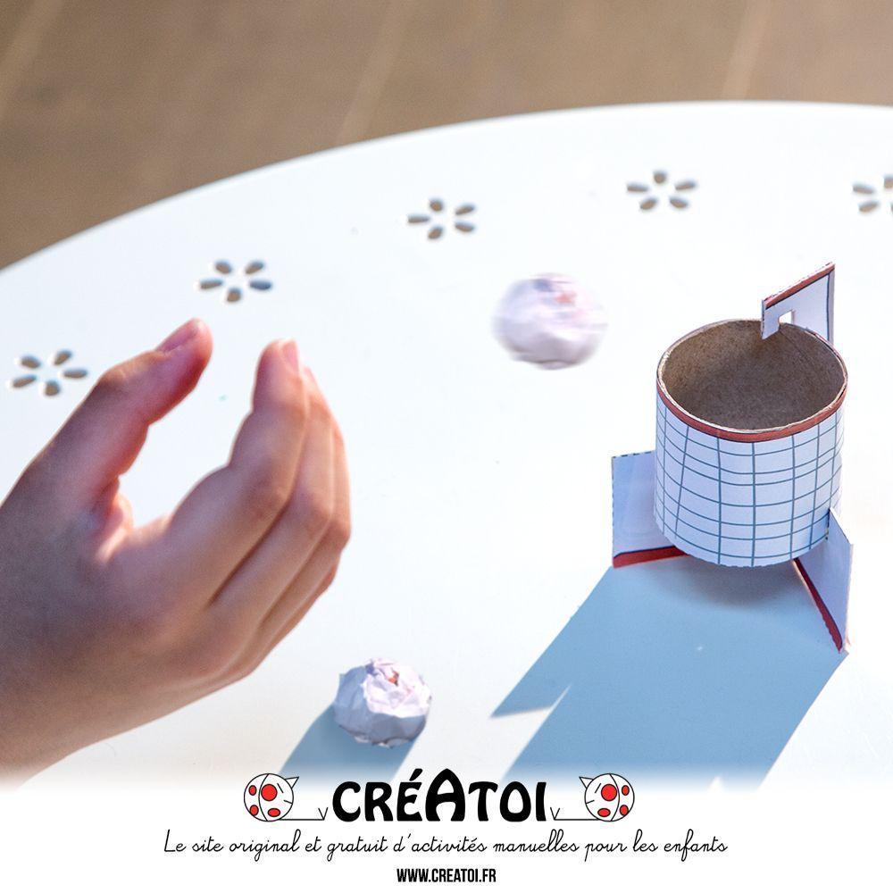 mon basket de poche bricolages recyclages enfants pinterest papier rouleau papier. Black Bedroom Furniture Sets. Home Design Ideas