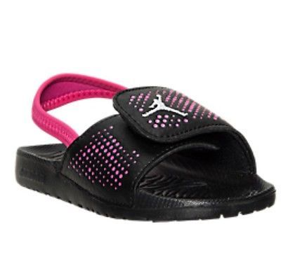 new arrival 9b104 91f9e Little girls jordan hydro 5 sandals toddler size 10 c nib ...