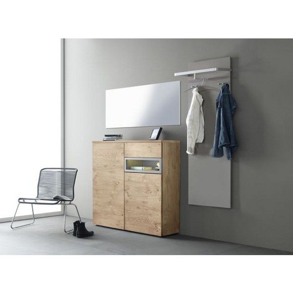 garderobe in eichefarben moderne klassik f r ihren eingangsbereich vorzimmer pinterest. Black Bedroom Furniture Sets. Home Design Ideas