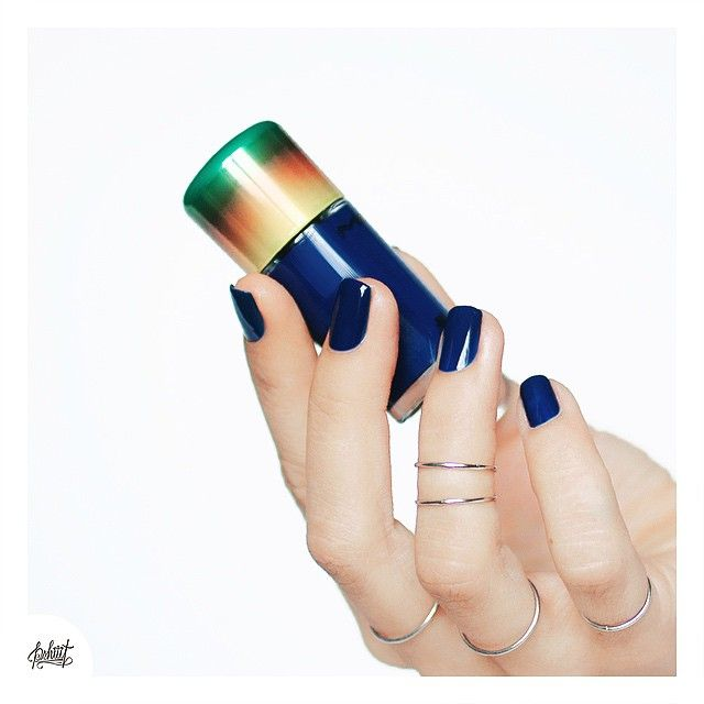 Navy blue Mac nail polish | Nails | Pinterest | Mac nail polish and ...