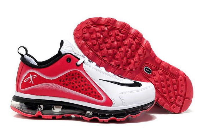 size 40 b0d89 ee9cb NIKE AIR GRIFFEY MAX 360 WHITE VARSITY RED-BLACK  74.00