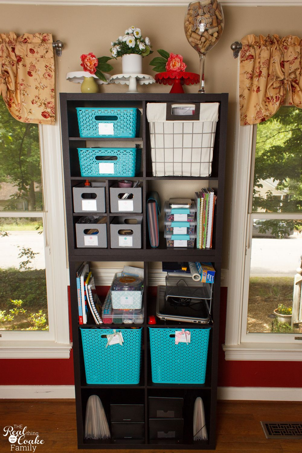 Great Craft Cabinet Organization Ideas for Small Spaces ...