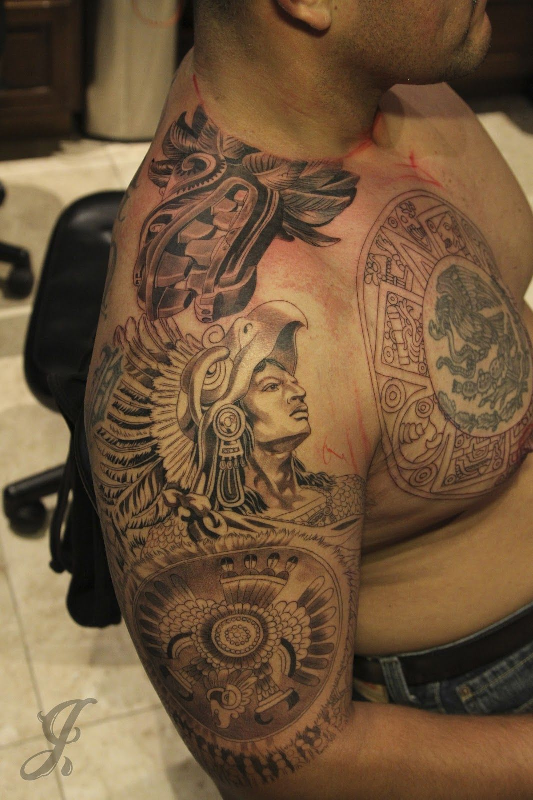 Top 25 Aztec Tattoo Designs With Meanings   Styles At Life