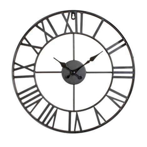 pendule vintage noire • dÉco black white •