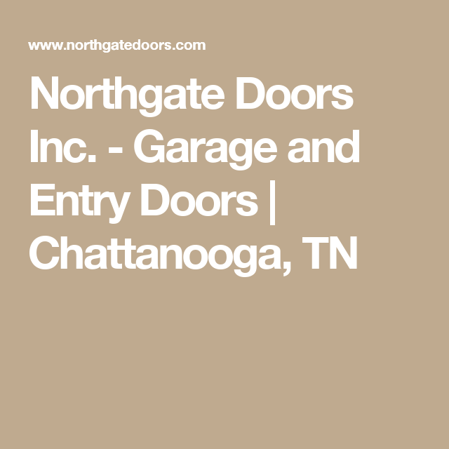 Northgate Doors Inc. - Garage and Entry Doors  sc 1 st  Pinterest : northgate doors - pezcame.com