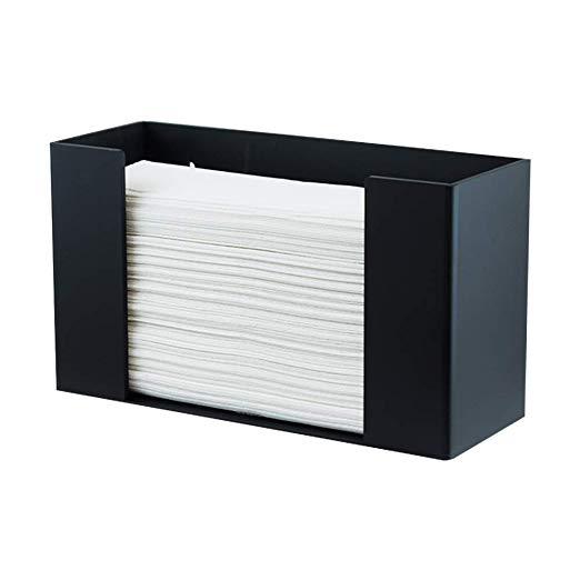 Houseables Paper Towel Dispenser Trifold Napkins Holder 11 1 2