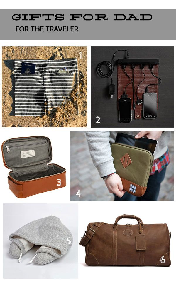Manly gift ideas - for the traveling man #gifts #ideas #machogifts