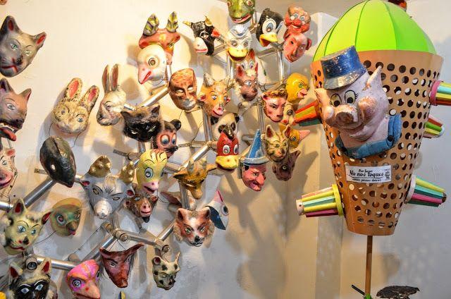 """Fotoviaje: Ciudad de México. Día 12 """"El Museo del Juguete Ant..."""