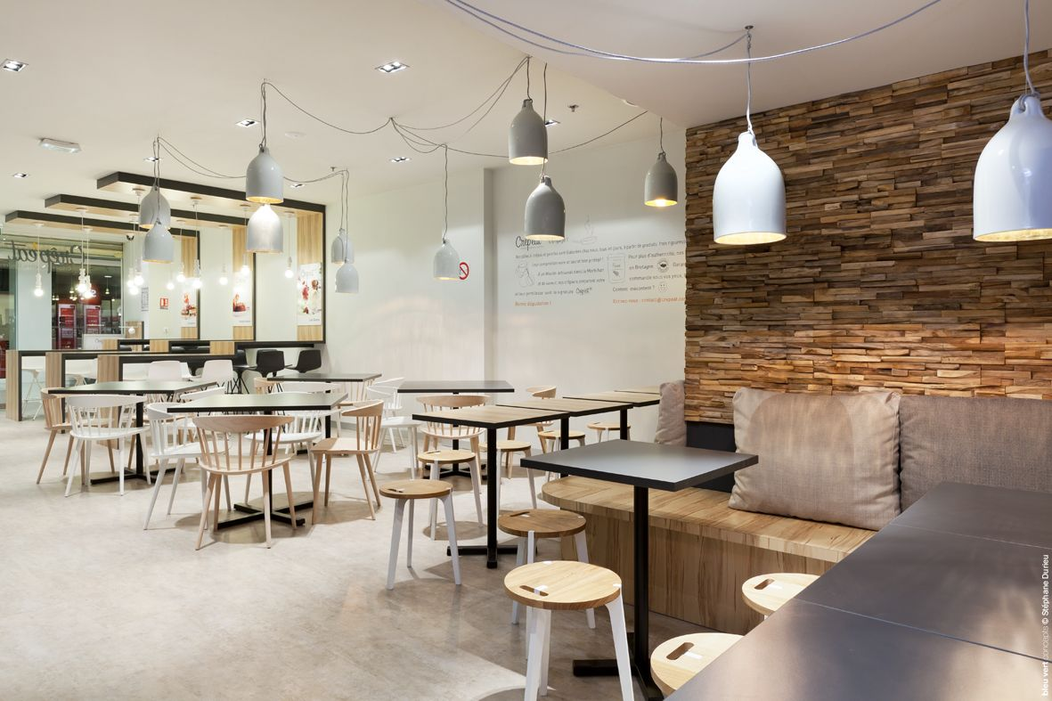 Awesome Crepeu0027eat Is A Modern Creperie Chain In France. Love The Mix Between  Contemporary