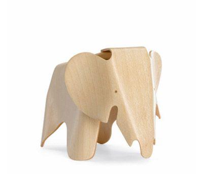 Vitra - eames miniature plywood elephant.  Cute!
