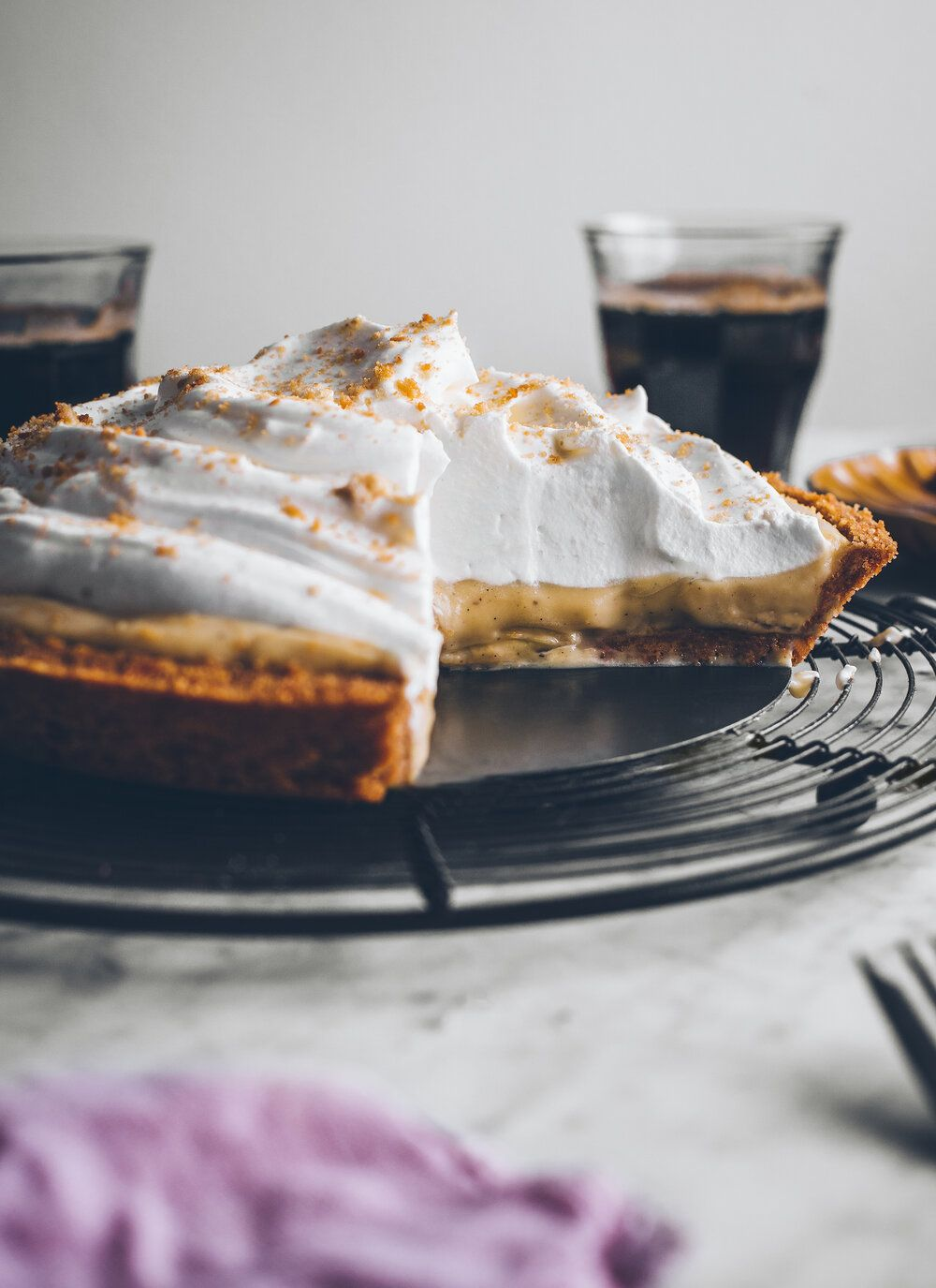 Brown Sugar BANANA CREAM PIE — The Broken Bread
