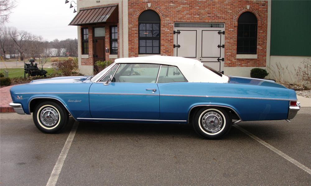 1966 Impala Ss For Chevrolet Lot 641 1 Barrett Jackson Auction Company