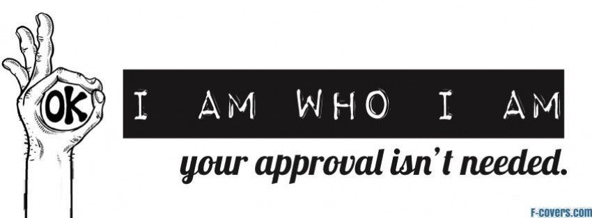 I Am Who I Am Facebook Cover Fb Covers Best Facebook Cover