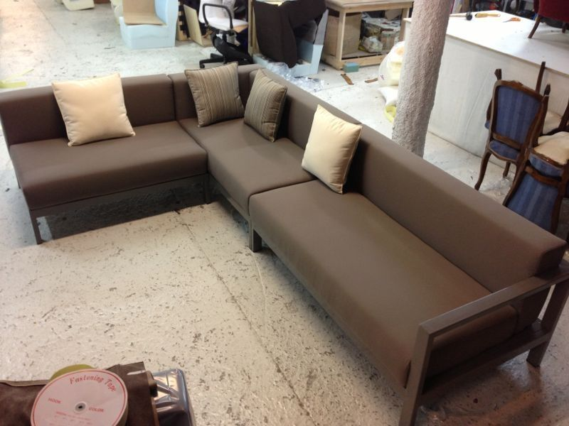 Sof barcelona muebles de hierro lat n zinc inox sillas taburetes sofas muebles en - Muebles exterior barcelona ...