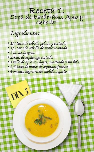 Recetas con ingredientes y modo de preparacion