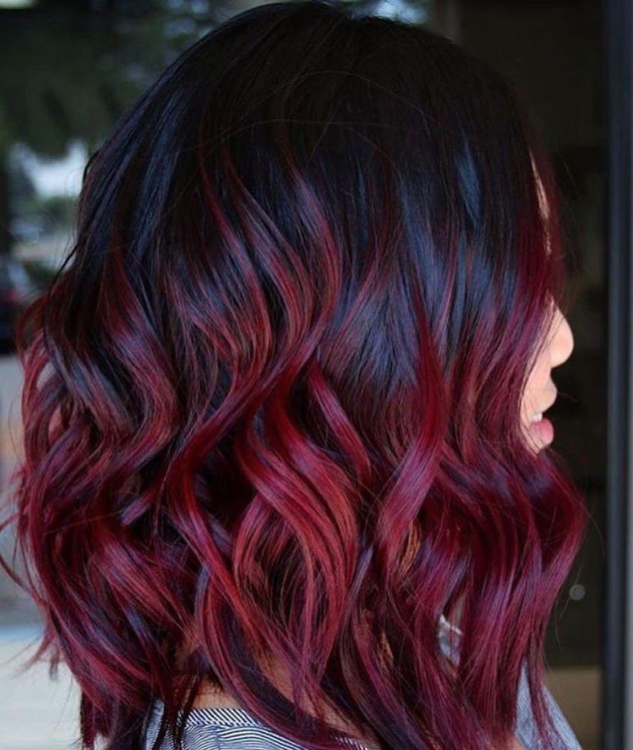 Mulled Wine Hair: Die schönste Haarfarbe des Winters