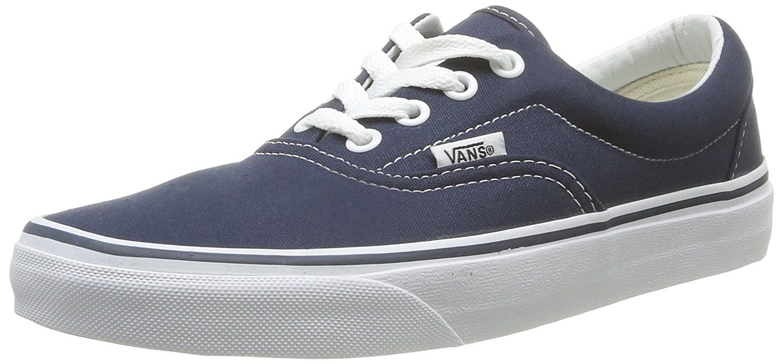 Vans Era Navy Bianco U Canvas Unisex Scarpe Da Ginnastica Da Skate Scarpe