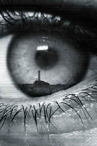 Eye reflection drawing reflection in eye iphone wallpaper download iphone wallpaper club in - Eye drawing wallpaper ...
