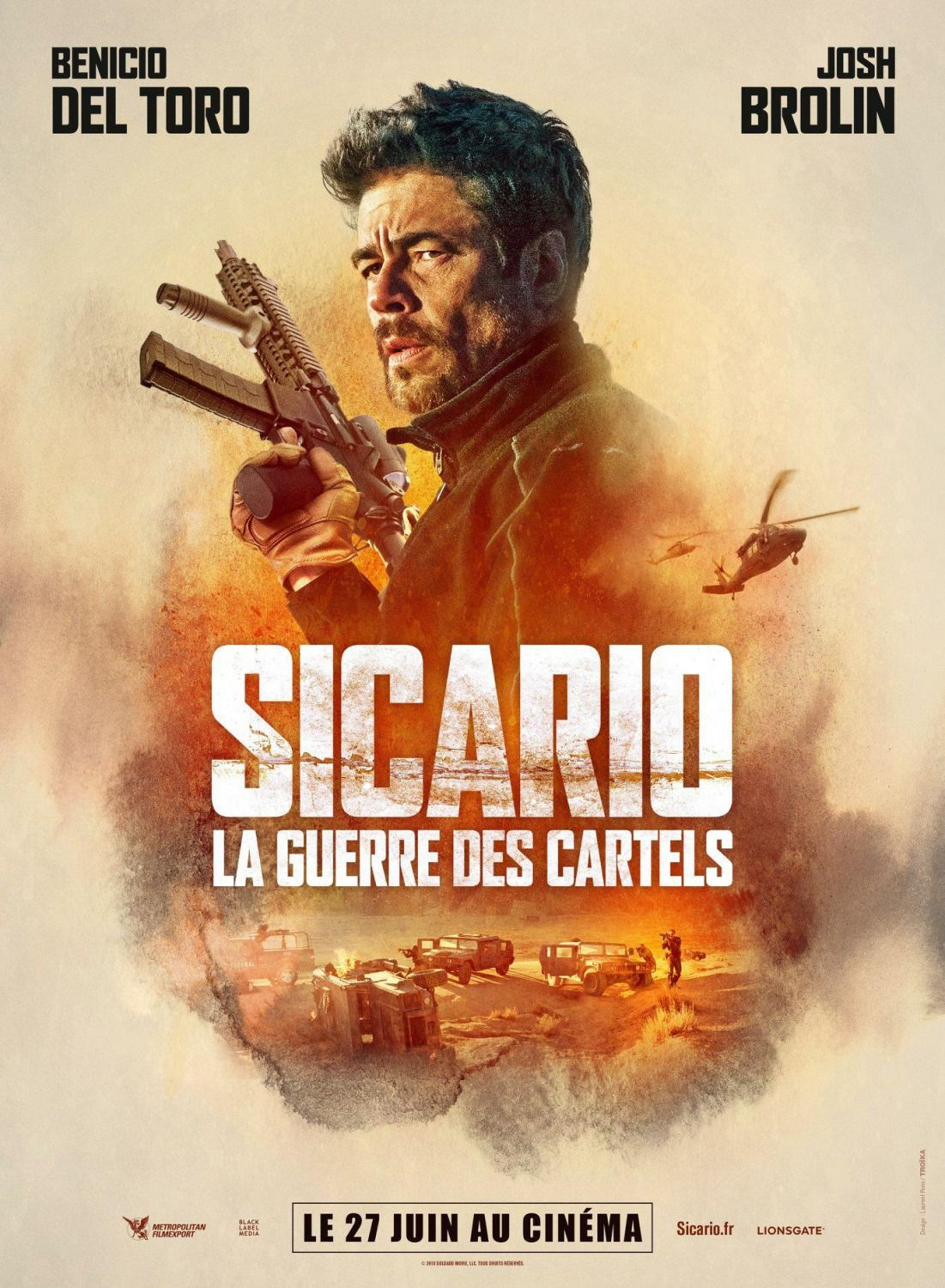Return To The Main Poster Page For Sicario Day Of The Soldado 3