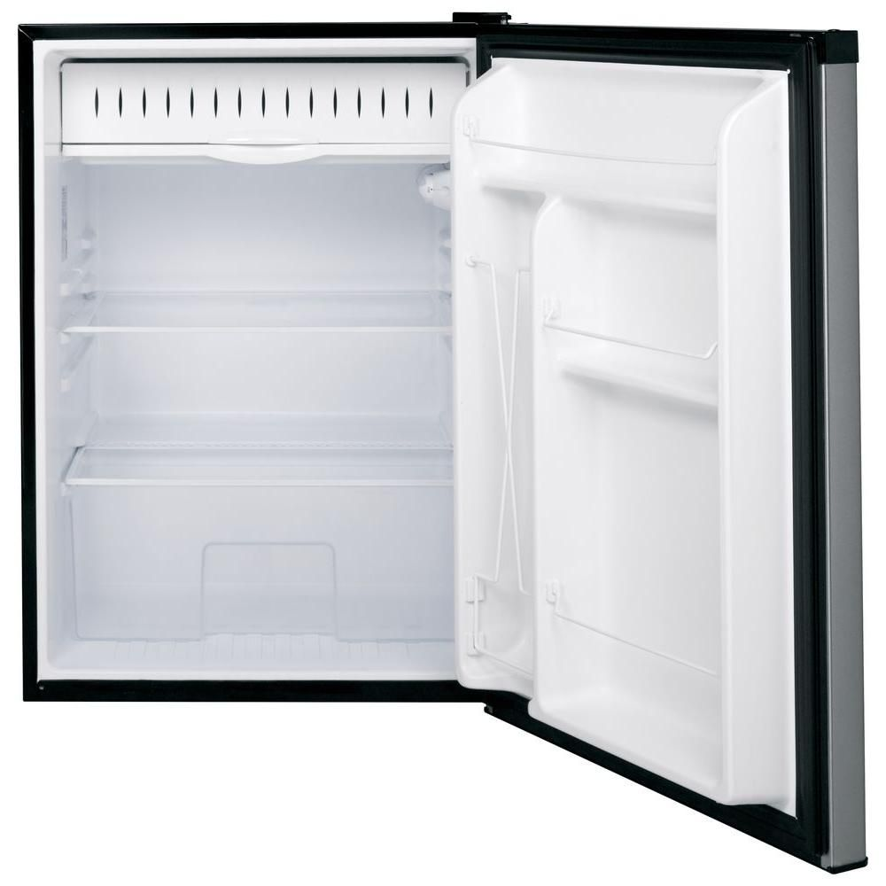 Ge 5 6 Cu Ft Mini Fridge In Stainless Steel Gce06gshsb Compact