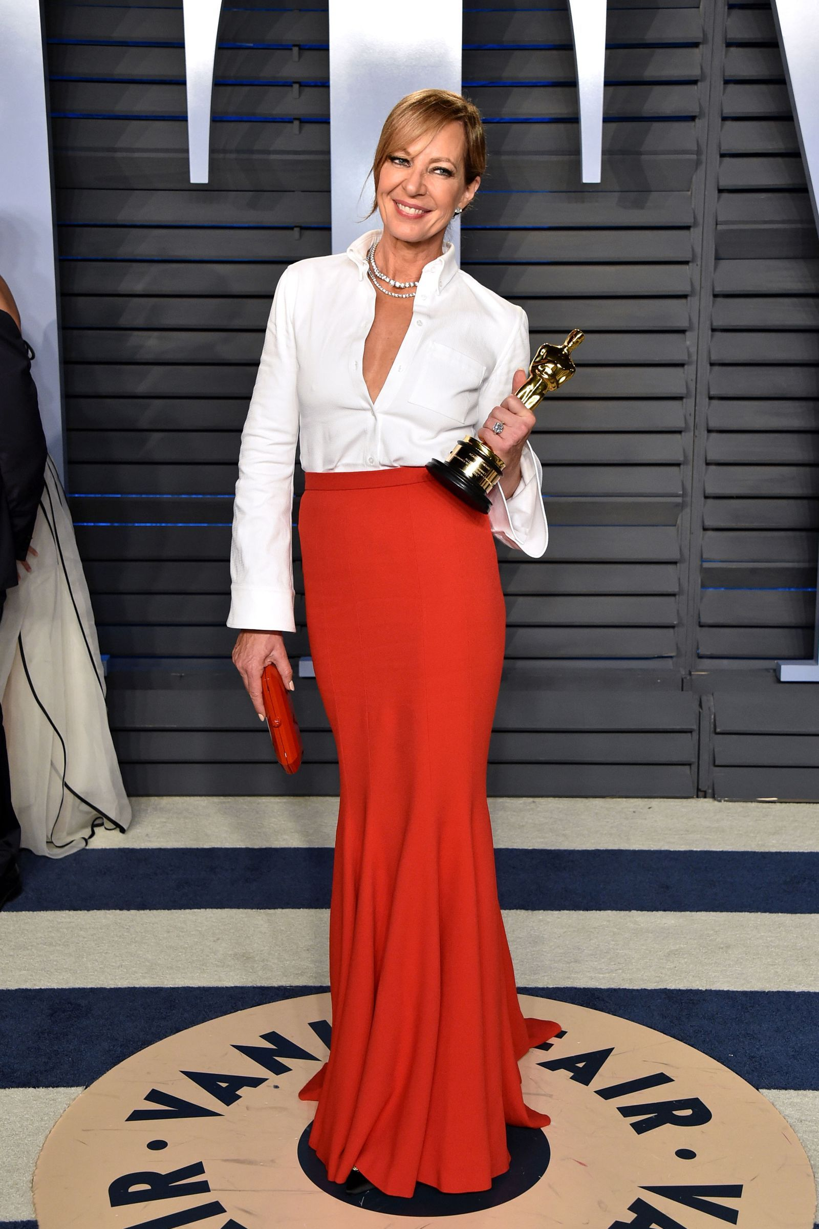 All the best looks from the oscars afterparties allison janney