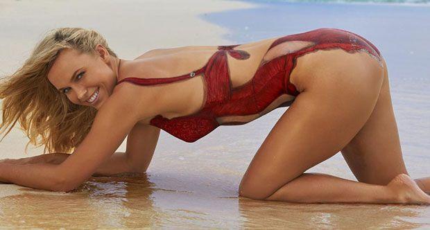Caroline wozniacki amp lindsey vonn naked bodypaint 8