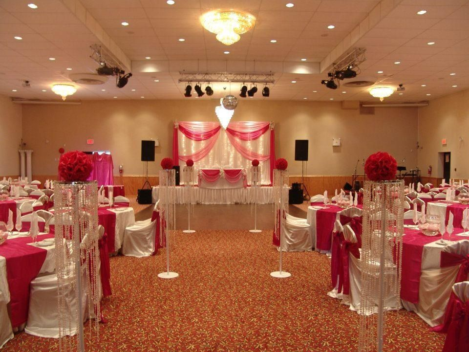 Selecting the ceremony site was easy and one of the most for Simple wedding decoration ideas for reception