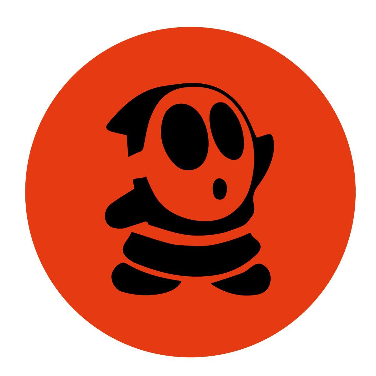 Fun! #Nintendo Shy Guy Pumpkin Carving Stencil. | For kids | Pinterest
