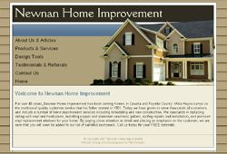 company newnan home improvement website www newnanhomeimprovement com ... - info on financing home repairs - grants-gov.net