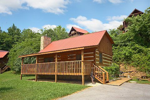 That away cabin rental near pigeon forge tn this for Fishing cabins in tennessee