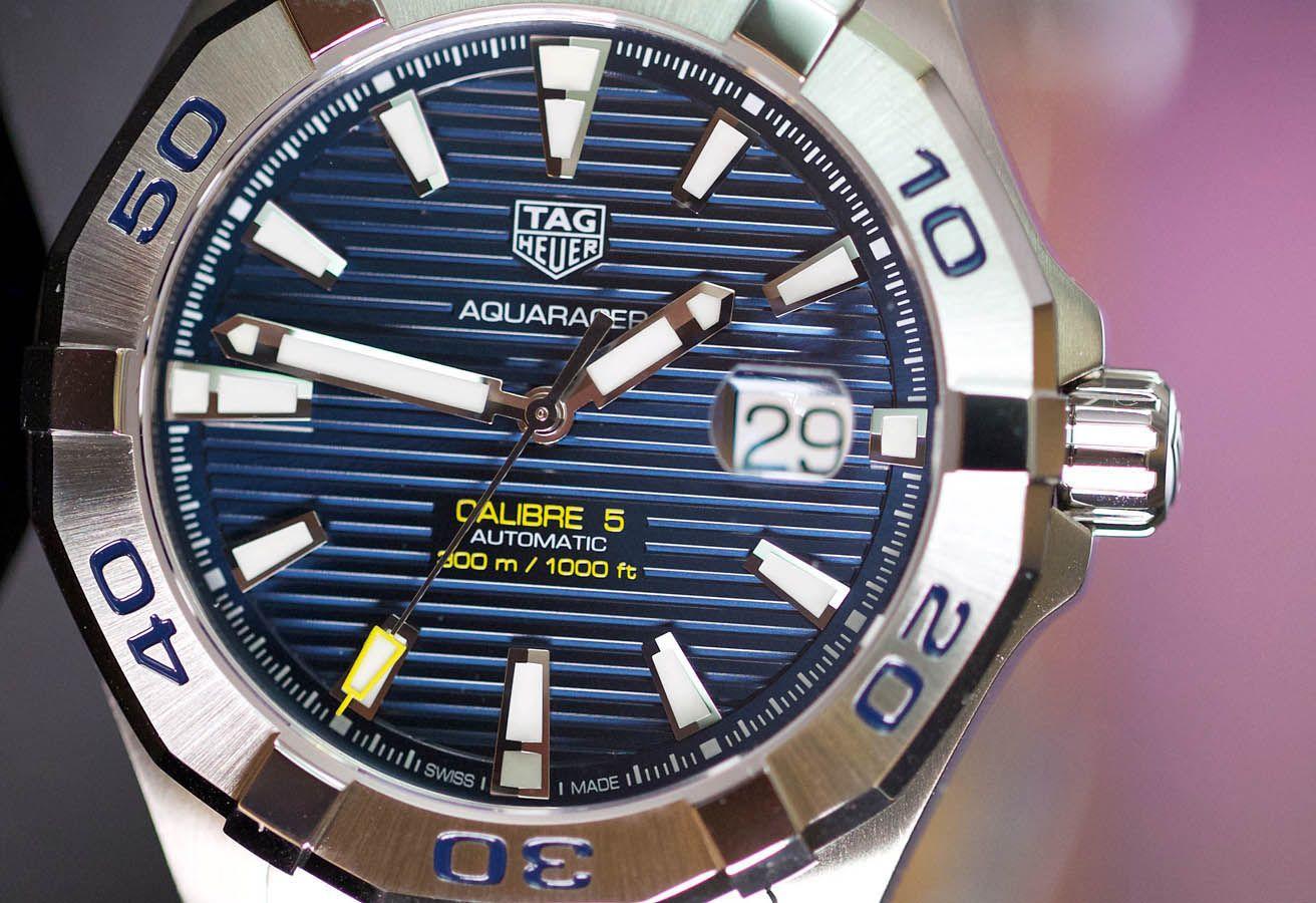 3d7e961f4e2 Tag Heuer Aquaracer Calibre 5 Automatic Men's Watch WAY2012.BA0927 ...