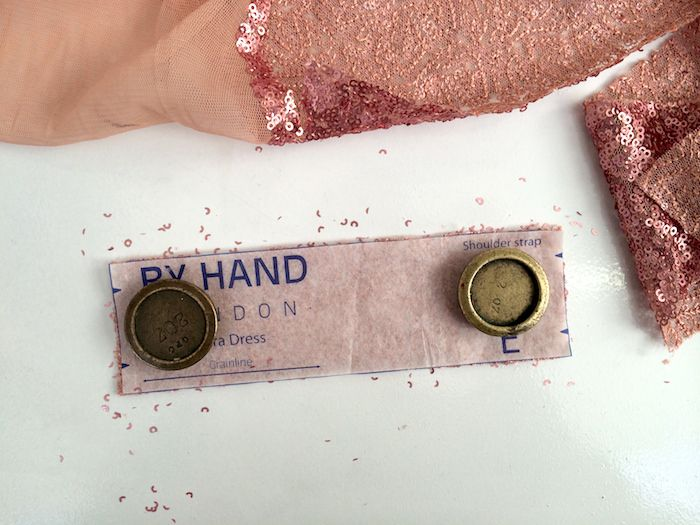Nerdy sewing tips: Sewing with sequin fabric – By Hand London