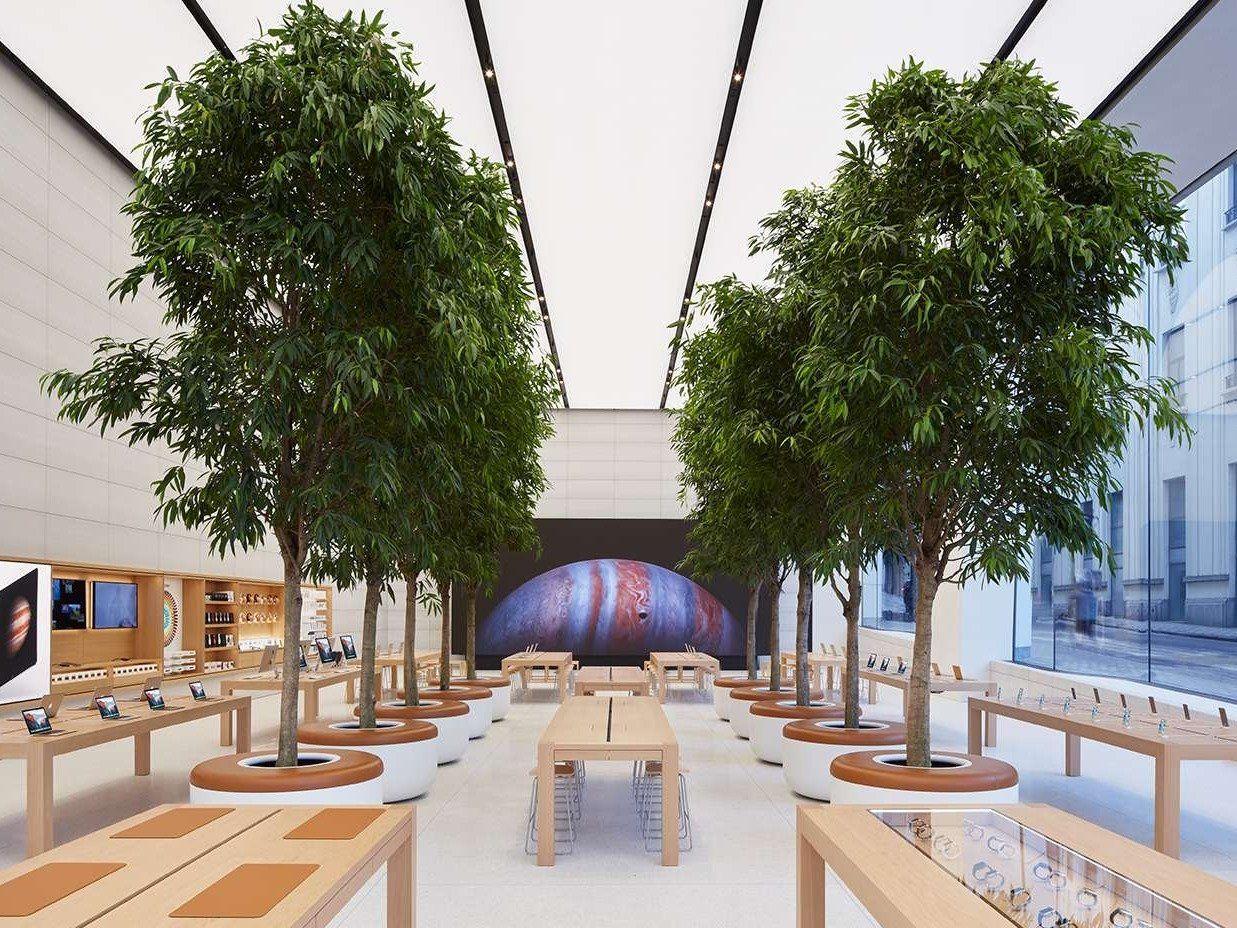 Apple Retail Store Brussels Jonathan Ive Foster Partners Arquitetura Arquitetura Comercial Casas