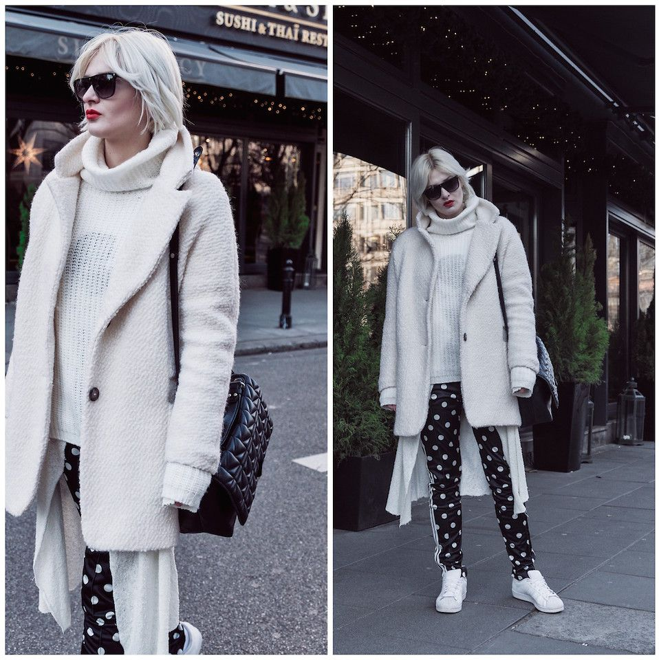 Wiktoria Celmer - Karl Lagerfeld Quilted Bag, Adidas Dots All Over Pants,  Adidas Superstar