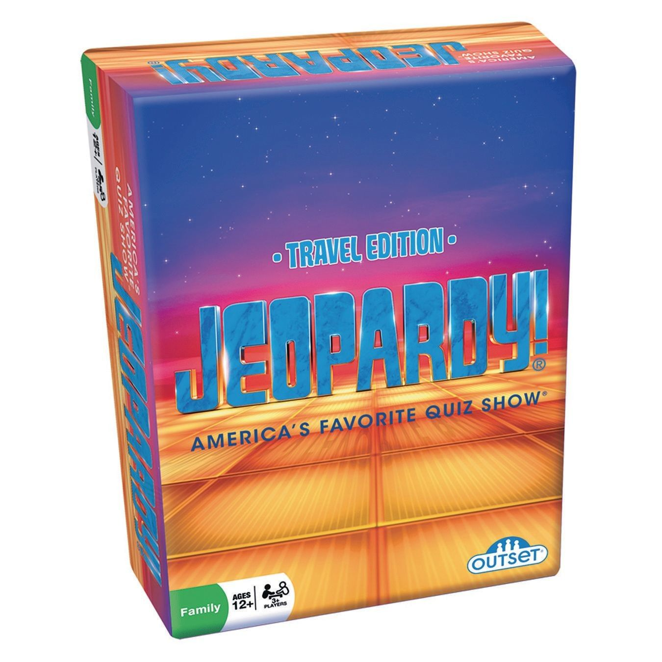 Jeopardy!® Card Game Travel games, Games