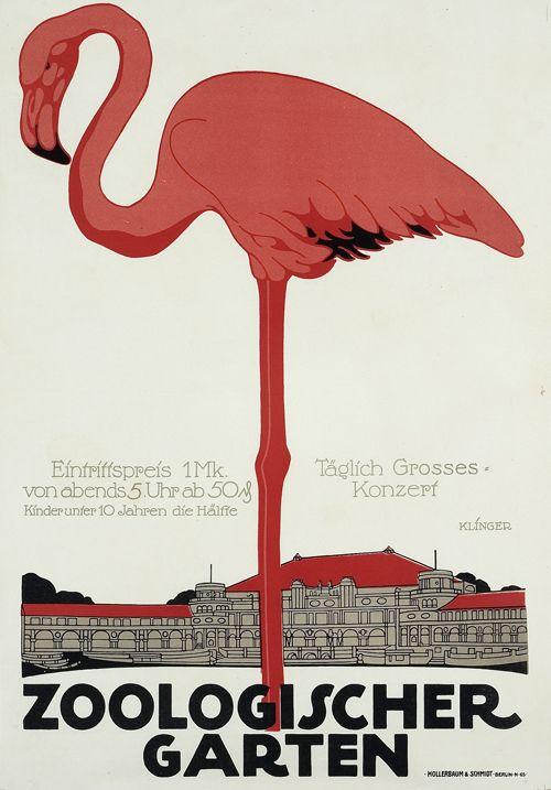 Zoologischer Garten Berlin Entwurf Julius Klinger Deutschland 1910 Druck Hollerbaum Schmidt Berlin Garten Berlin Plakat