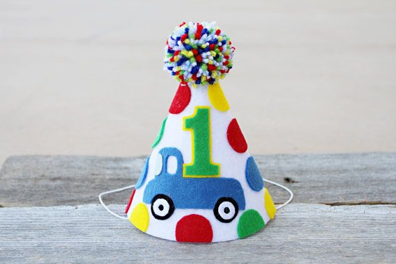 Boys 1st Birthday Little Blue Truck Party Hat 2nd By LaLaLolaShop