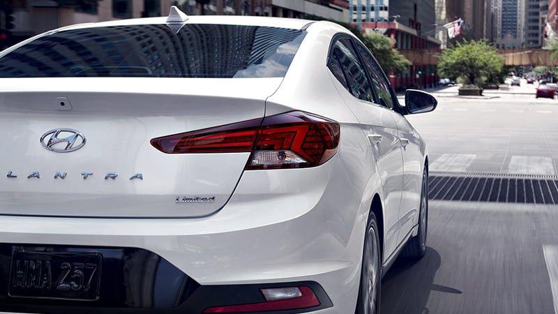 2019 Hyundai Elantra (Back View) (With images) Elantra