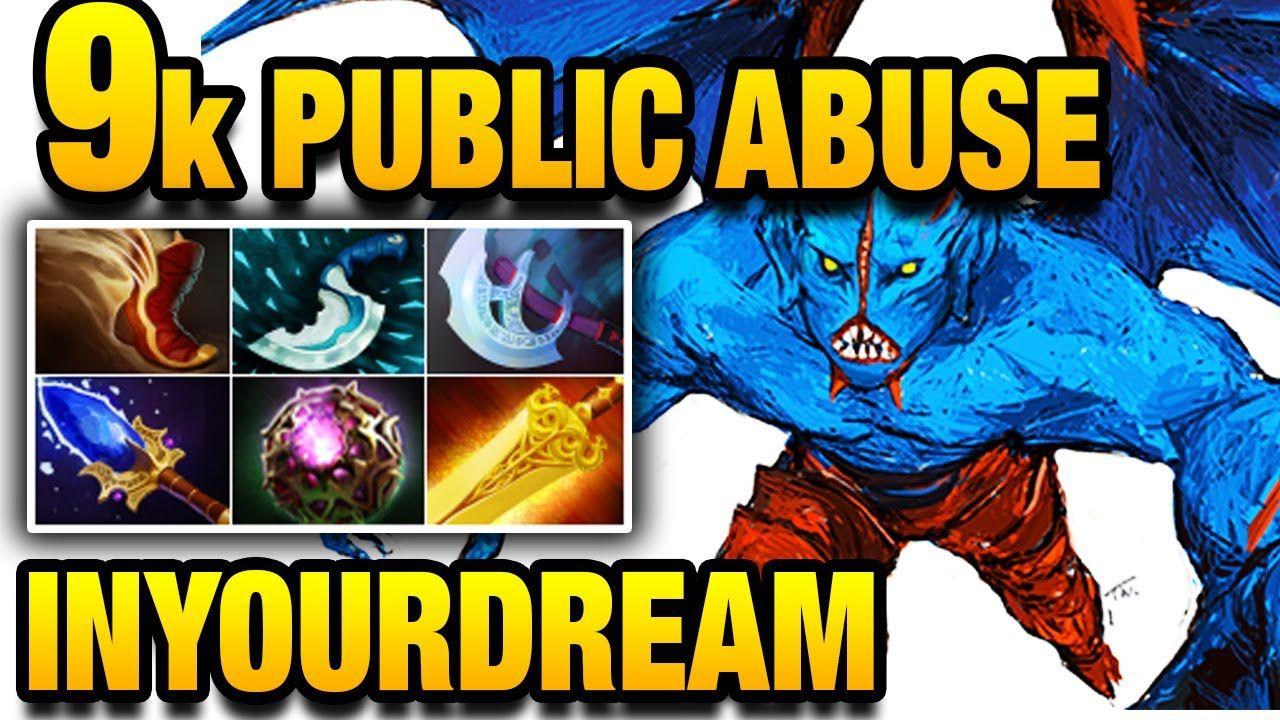 InYourdreaM Dota 2 - 9k SEA Public Abuse