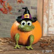 no carve pumpkin decorations tooo cute