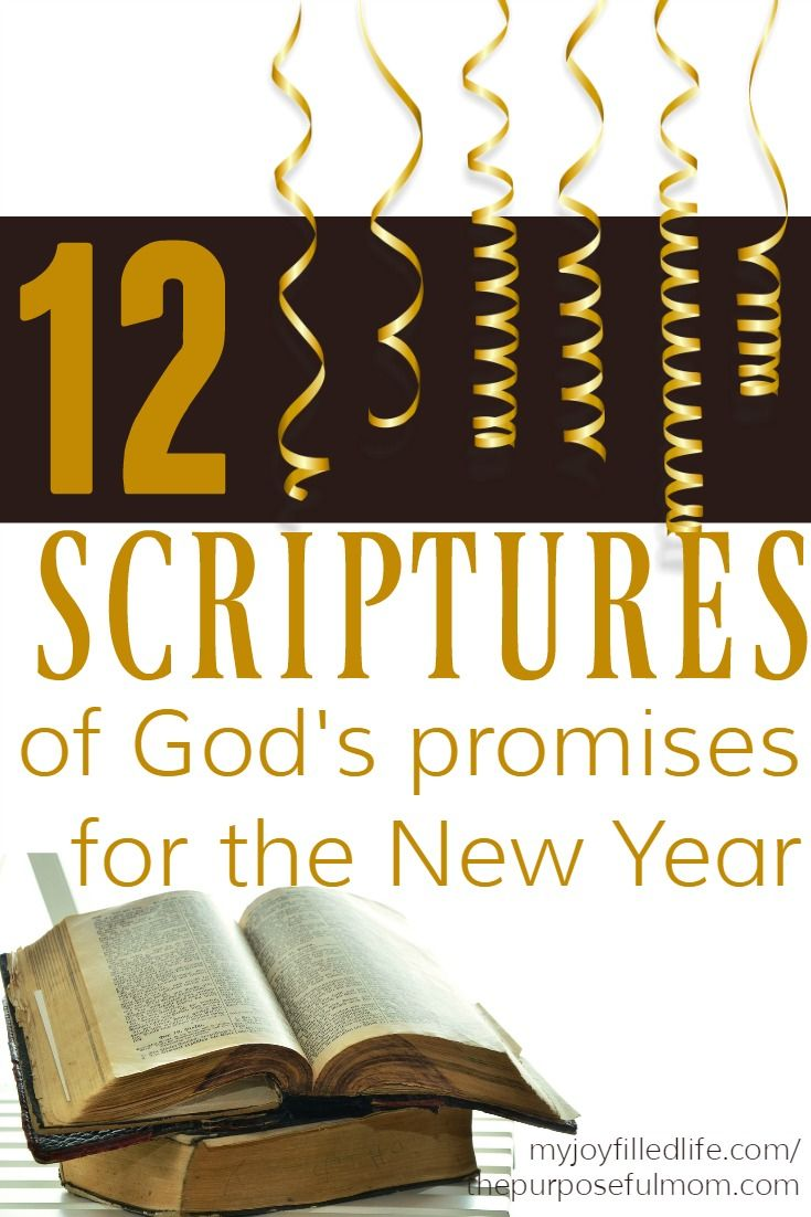 Small Of New Year Scripture